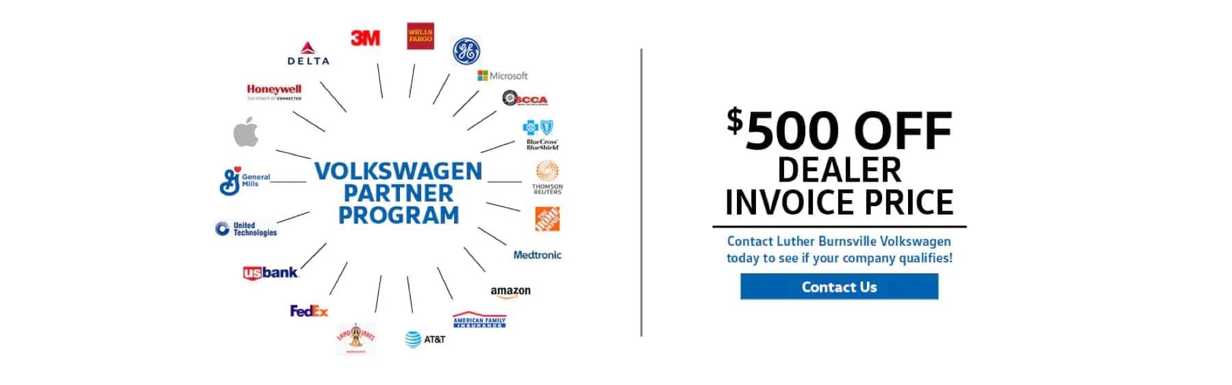 Luther VW Burnsville - Partner Page Banner