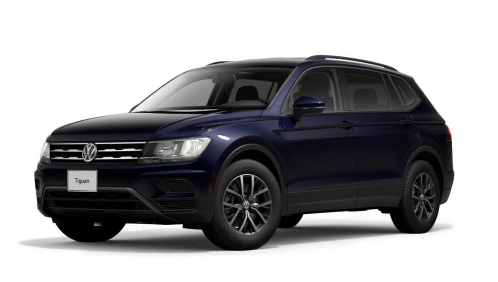 New 2021 Tiguan 4MOTION