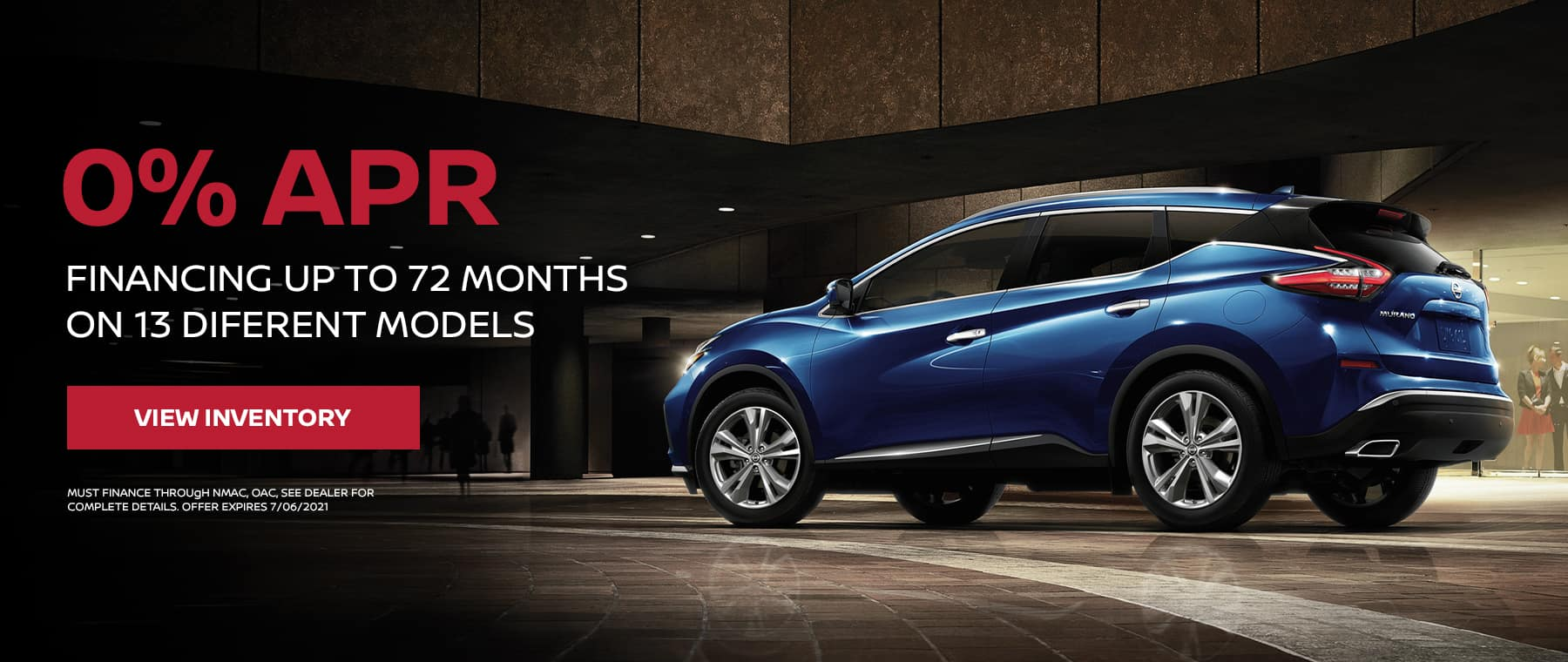0% FINANCING UP TO 72 MONTHS