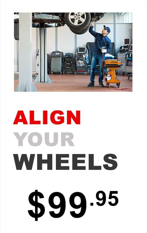 Align your wheels