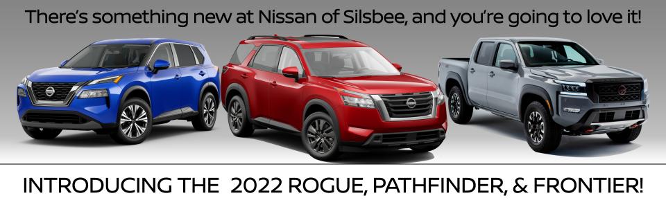 2022 Rogue, Pathfinder, Frontier