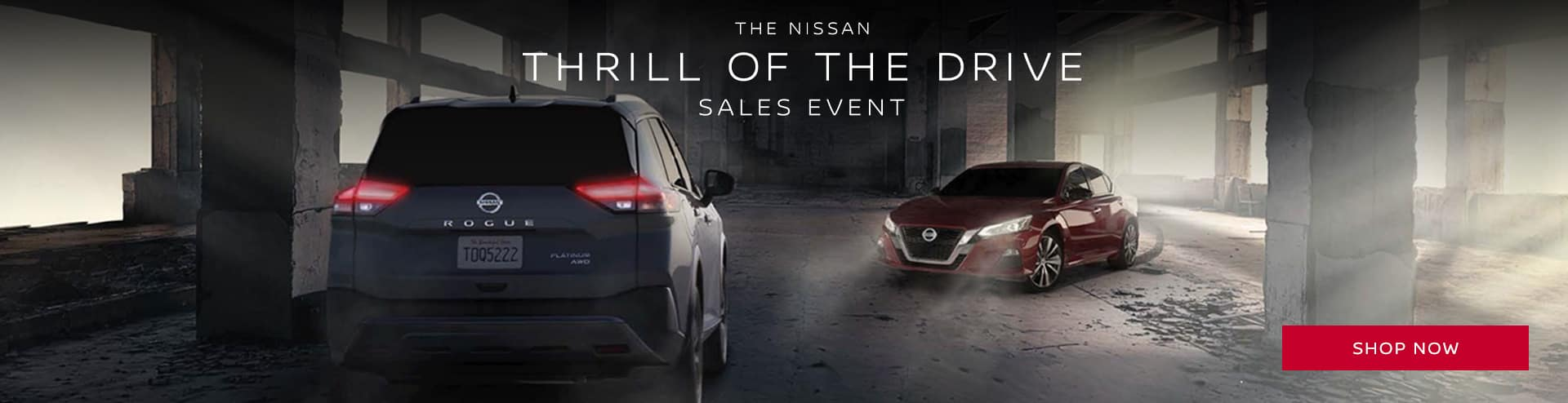 Thrill of drive banner