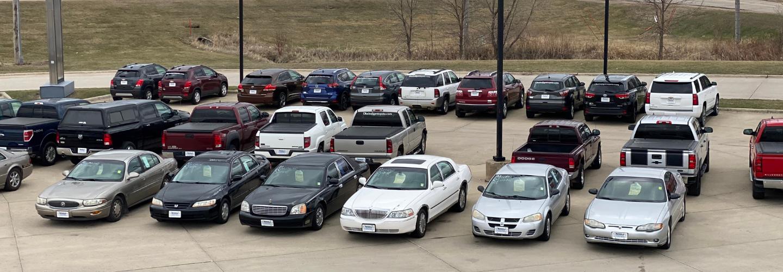 Car lot slider