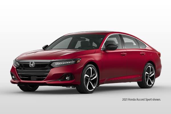 New 2021 Honda Accord Sport CVT Sedan