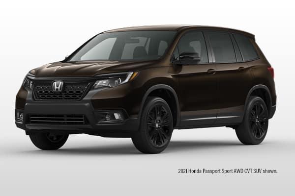 New 2021 Honda Passport SUV