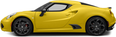 4c-coupe yellow sideview