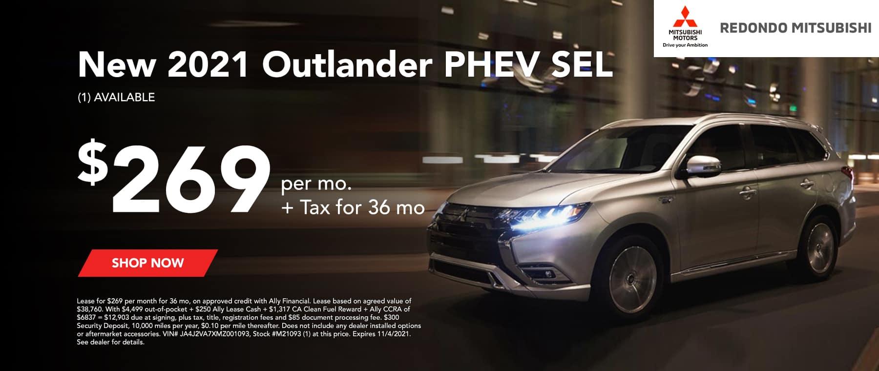 New 2021 OUTLANDER PHEV