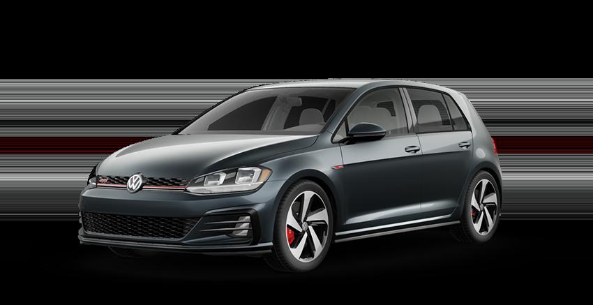 2020 VW Golf GTI Gray