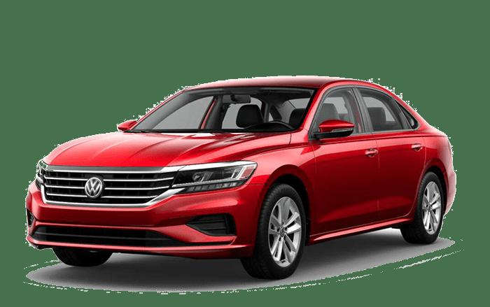 2020 VW Passat Red