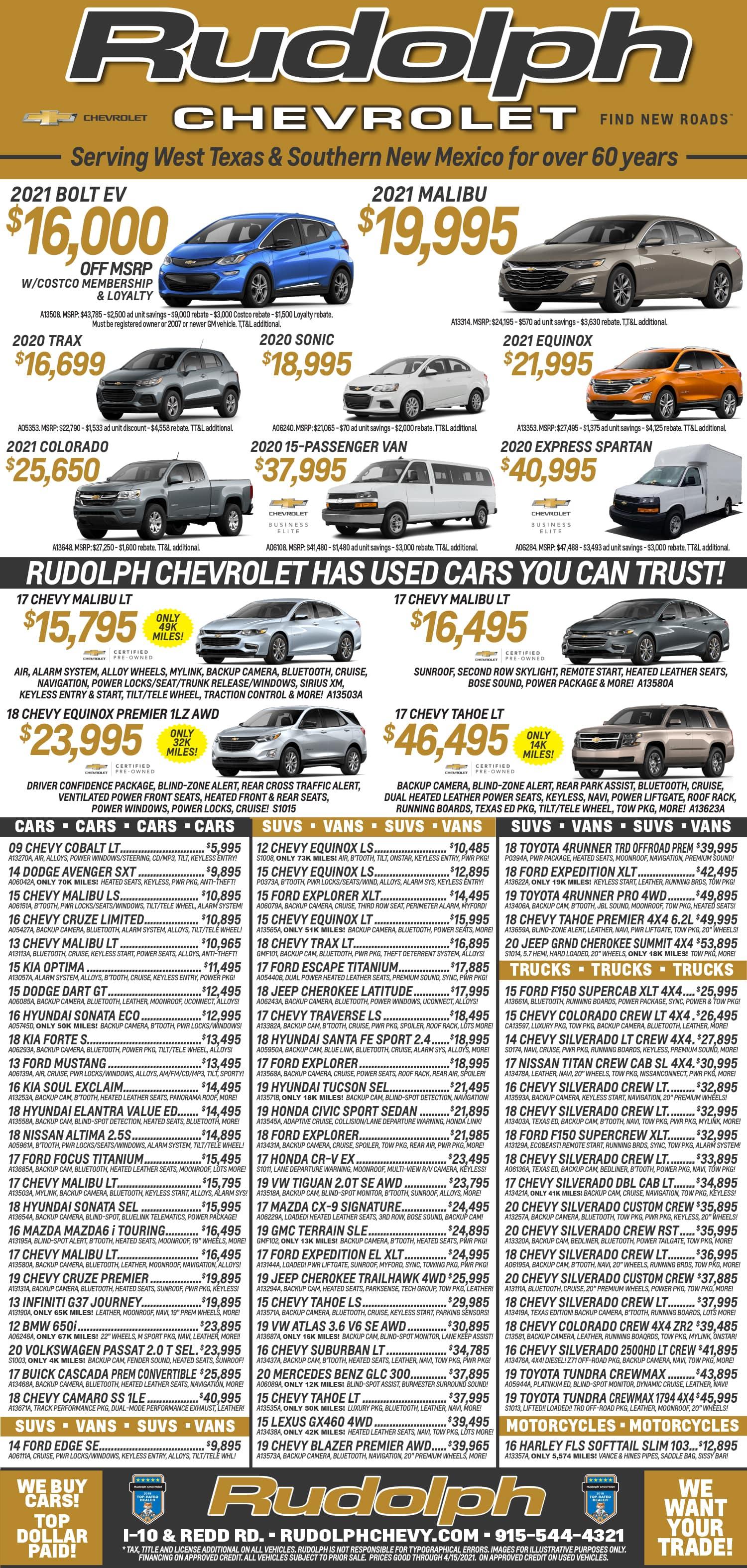 Weekly Print Ad