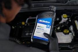 6-Quart ACDelco GM OE dexos1® Full Synthetic Oil Change