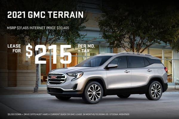 New GMC Terrain Offers