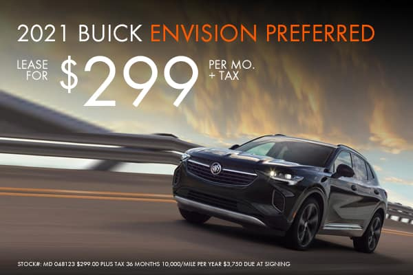 New Buick Envision Offers