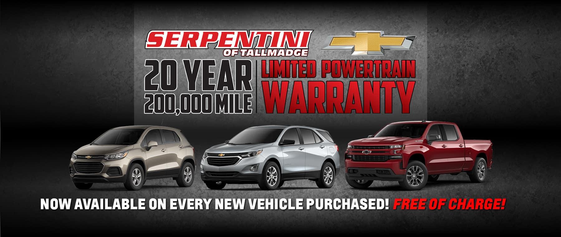 New Chevrolet Dealer In Tallmadge Serpentini Chevrolet