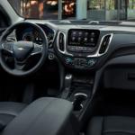 2022 chevy equinox black leather interior