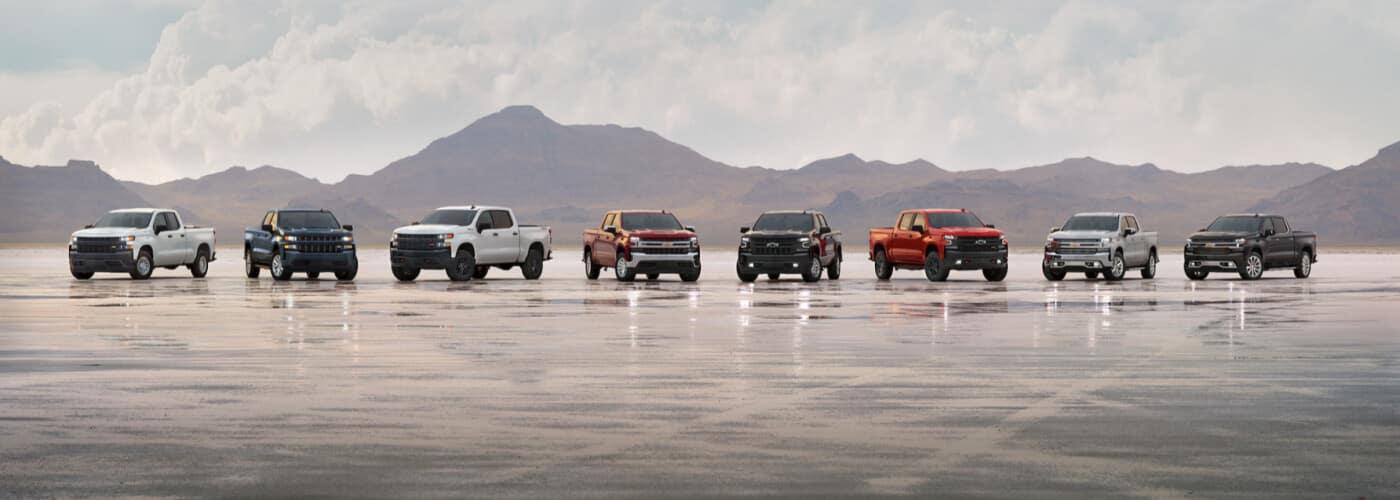 2021 Chevy Silverado 1500 Lineup