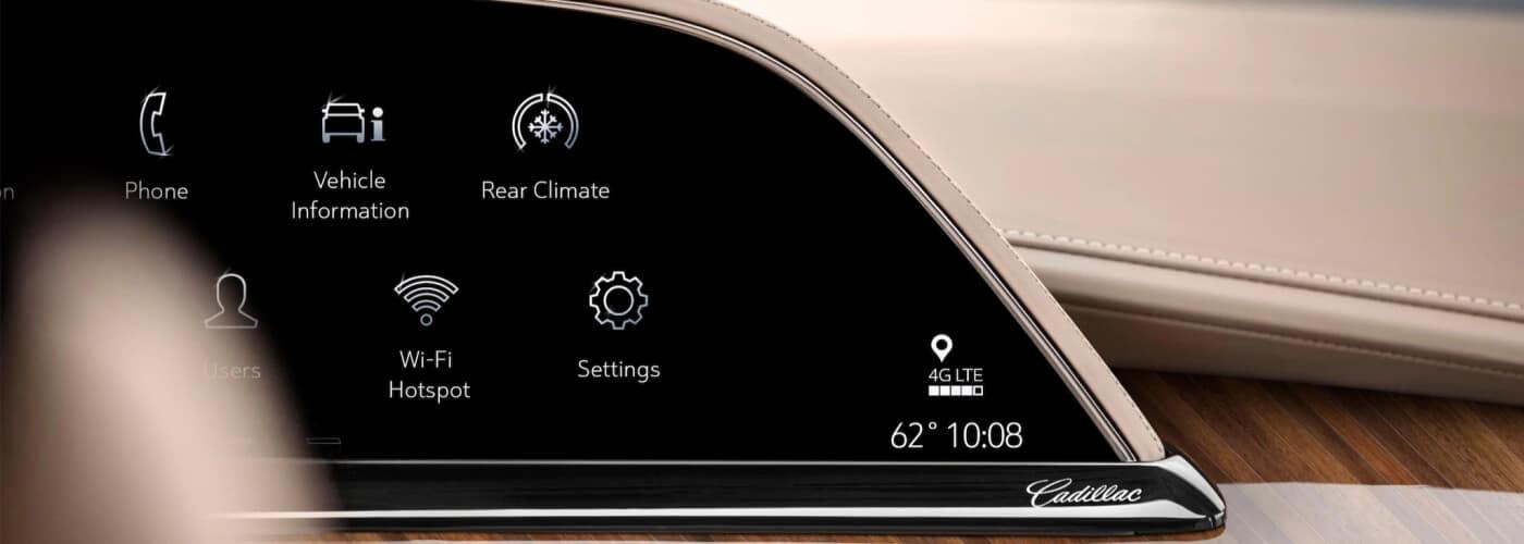 Cadillac Dashboard app