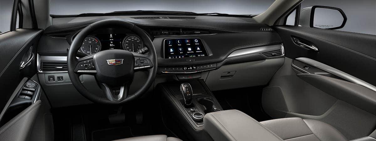 2021 Cadillac XT4 interior dashboard