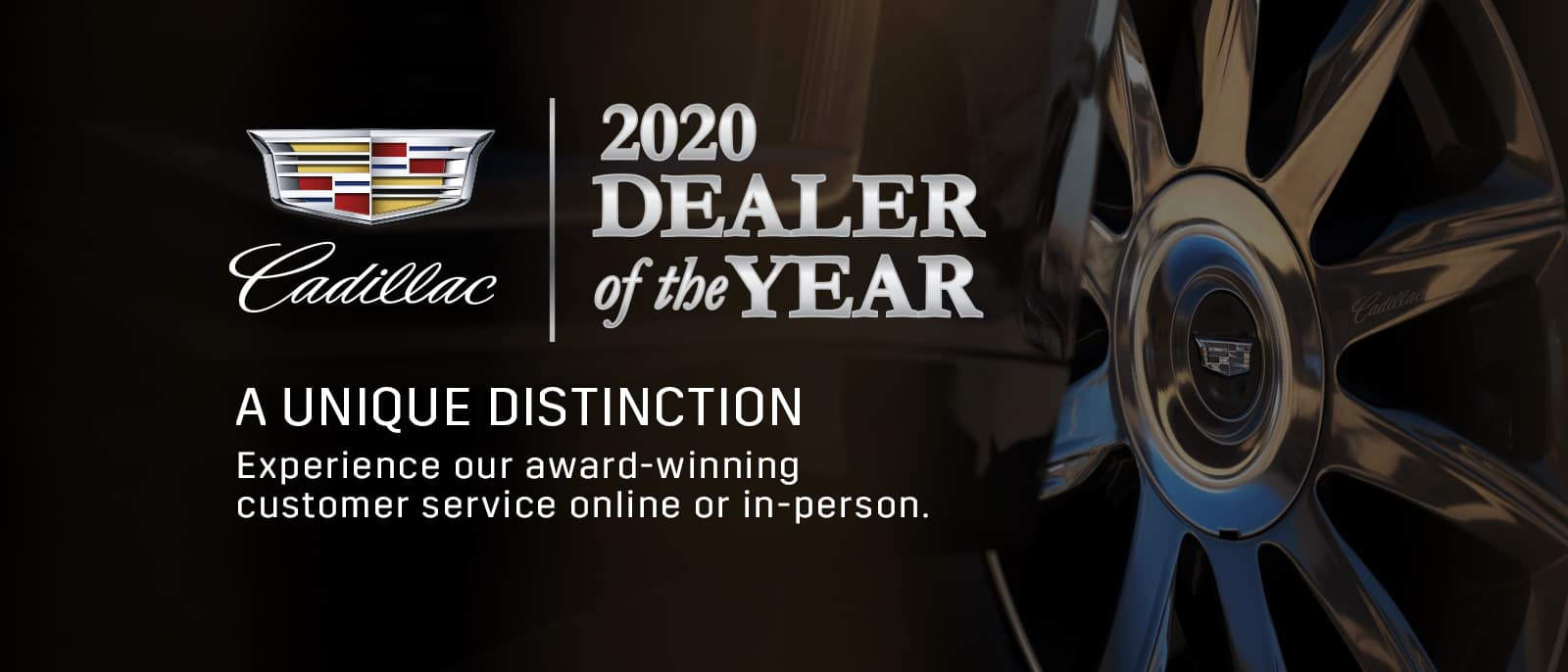 2020 Dealer of the Year banner