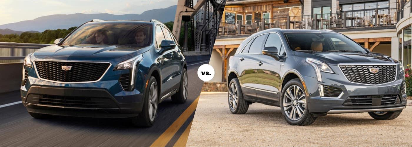 2021 Cadillac XT4 vs. 2021 Cadillac XT5 Comparison