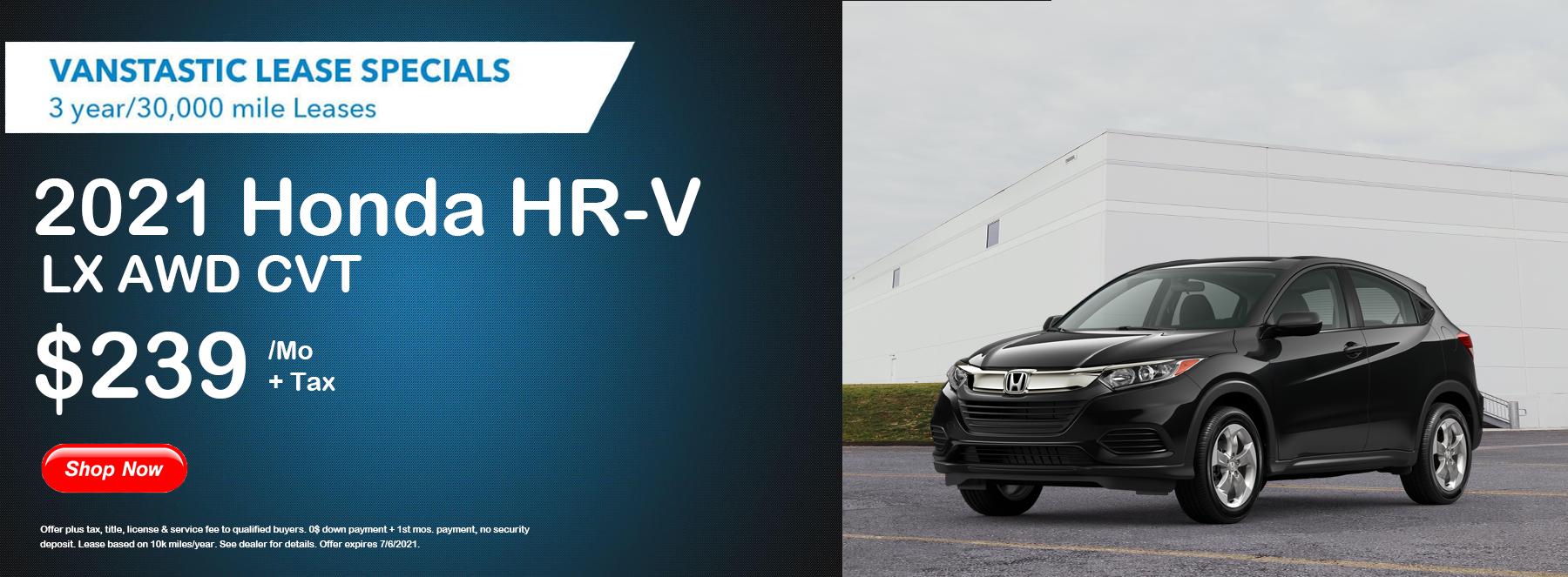 HR-V LX AWD 2021