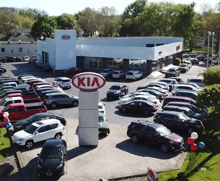 Vision Kia East Rochester Exterior
