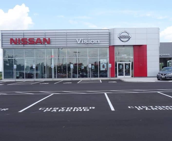 Vision Nissan of Canadaigua Exterior