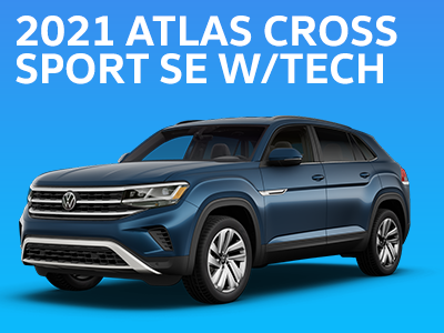 2021 Atlas Cross Sport SE w/TECH