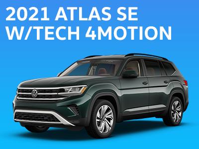 2021 Atlas SE w/TECH 4MOTION