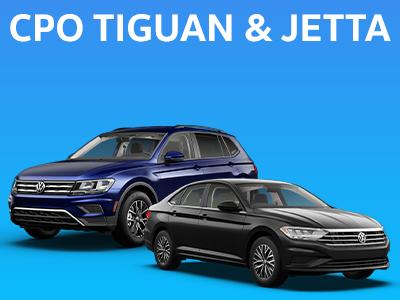 CPO Tiguan & Jetta