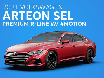 2021 Arteon SEL Premium R-Line w/ 4MOTION