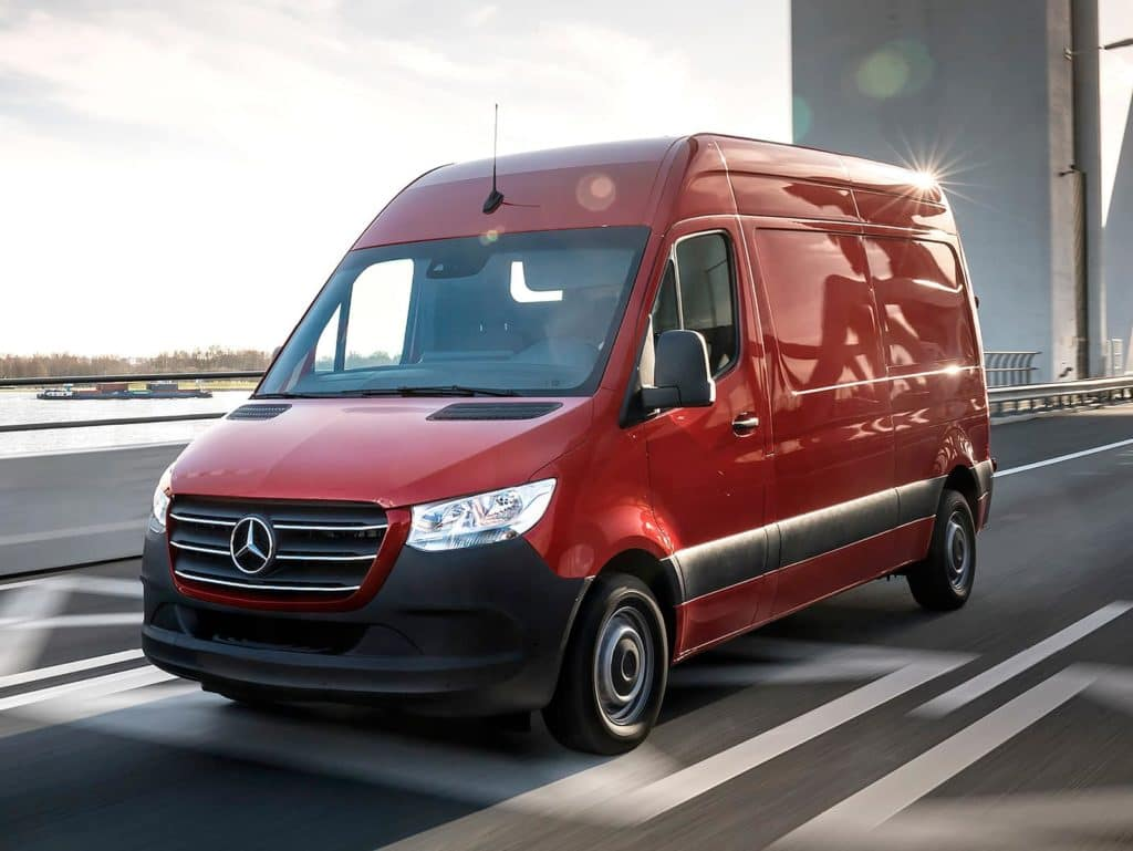 2021 Sprinter 2500 Passenger Van Lease Special