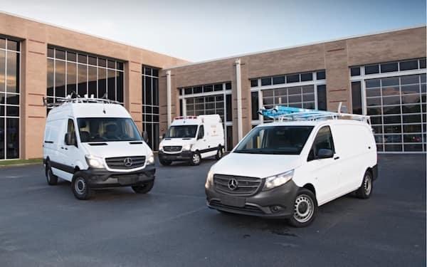 Mercedes-Benz Cargo Vans Certified Pre-Owned
